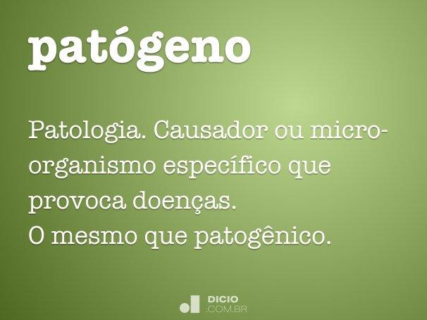 patógeno