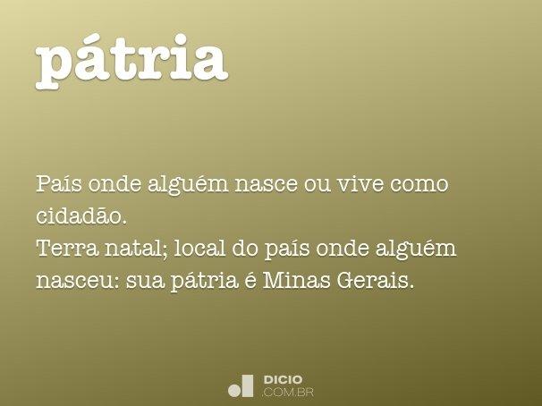 p�tria