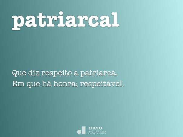 patriarcal