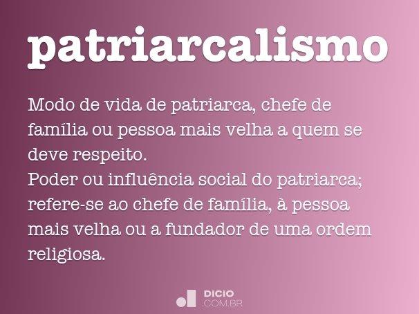 patriarcalismo