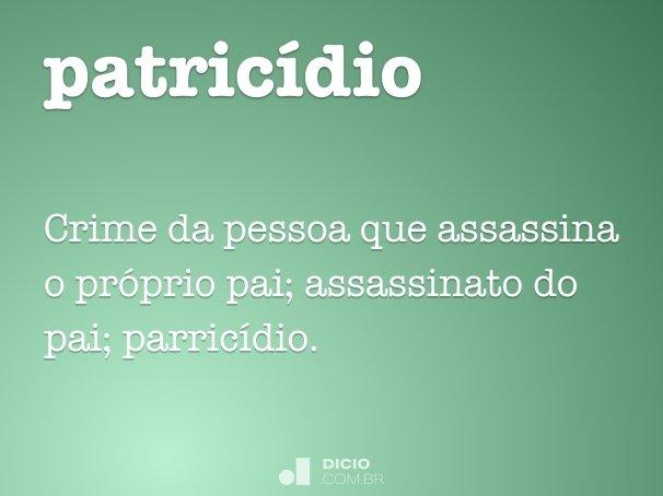 patricídio