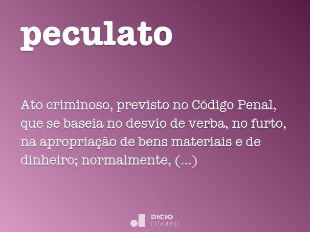 peculato