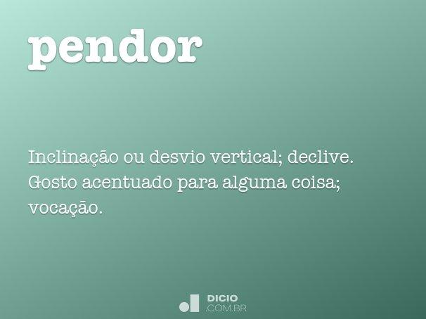 pendor