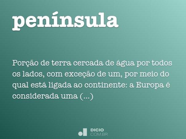 pen�nsula
