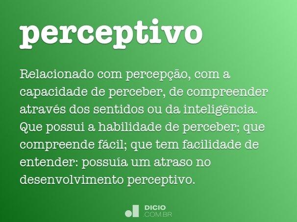 perceptivo