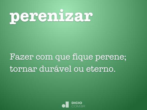 perenizar