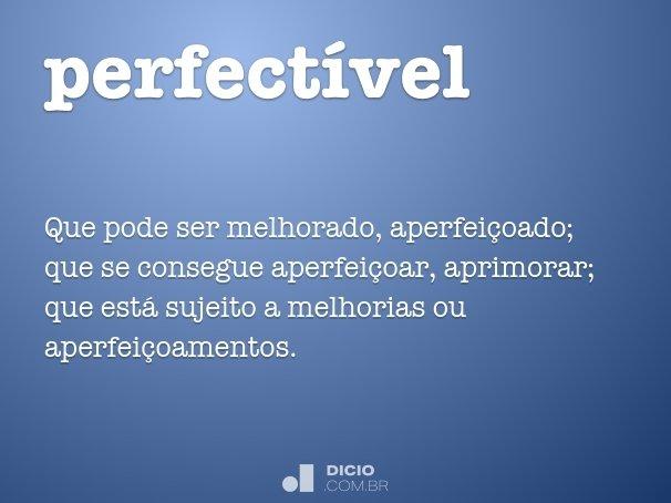 perfectível