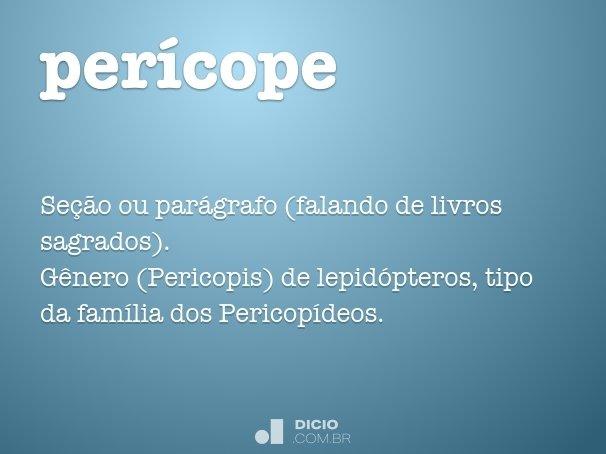 per�cope