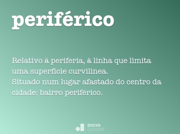 perif�rico