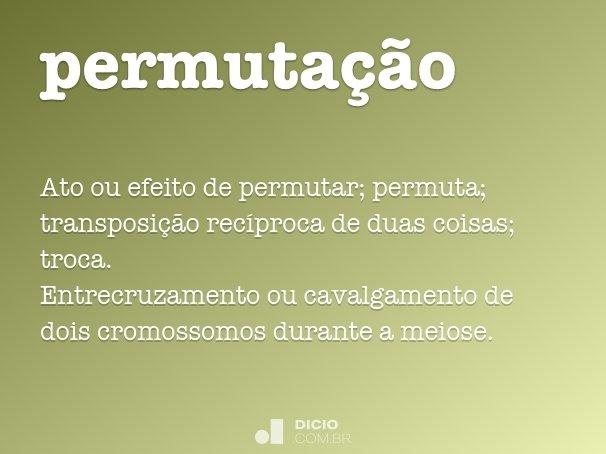 permuta��o
