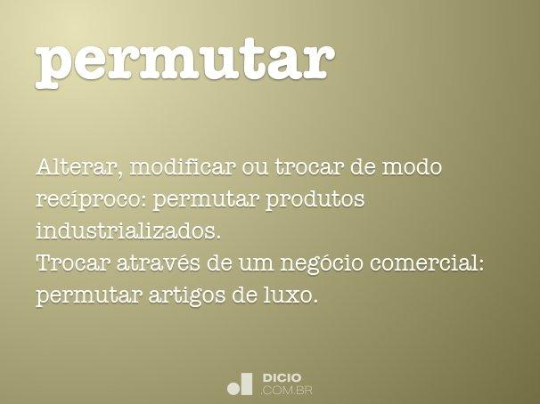 permutar