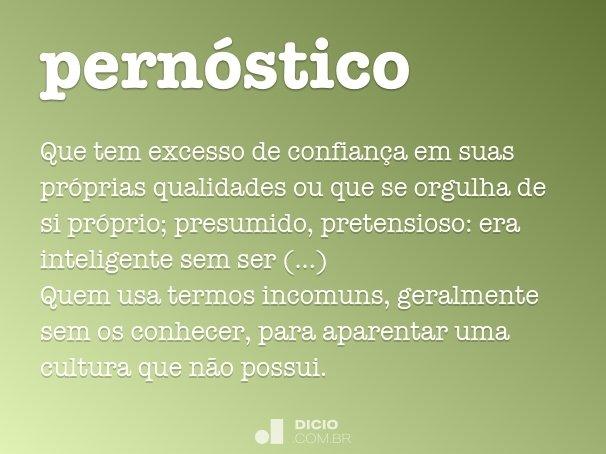pern�stico