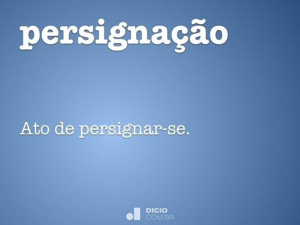 persigna��o