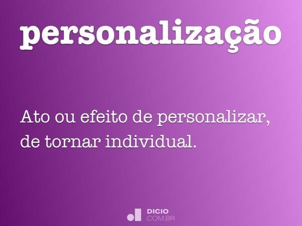 personaliza��o