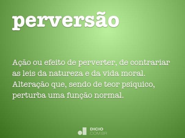 perversão