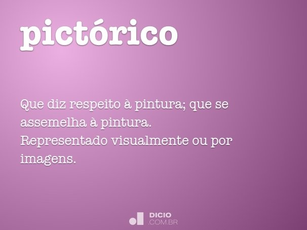 pict�rico