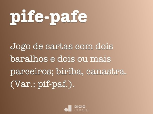 pife-pafe