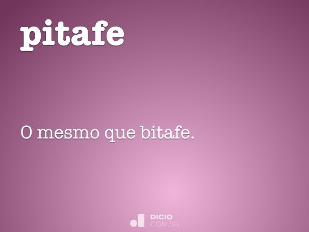 pitafe