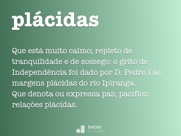 pl�cidas
