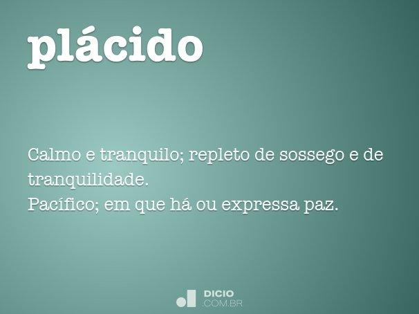 pl�cido