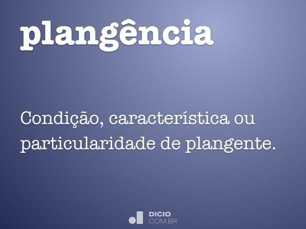 plang�ncia