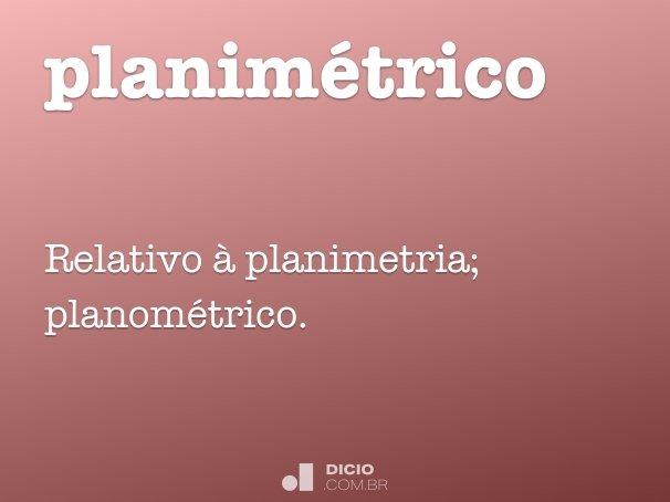 planim�trico