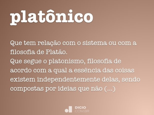 plat�nico