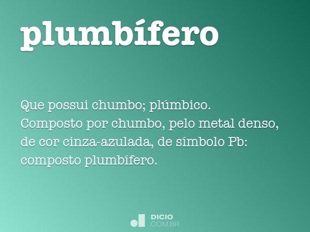 plumb�fero