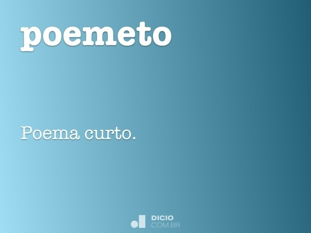 poemeto