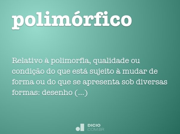 polim�rfico