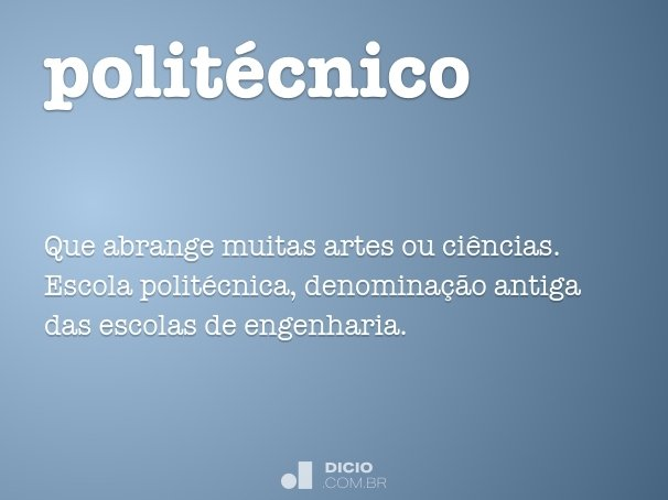 polit�cnico