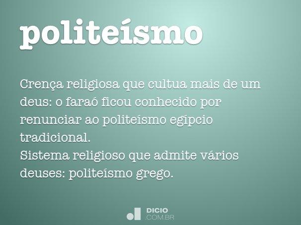 politeísmo