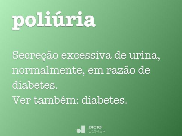 poliúria