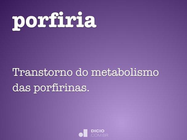 porfiria