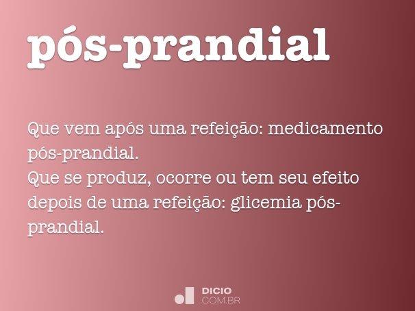 p�s-prandial