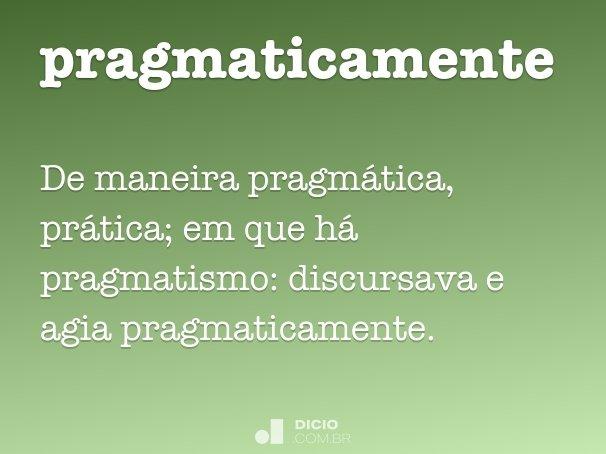pragmaticamente