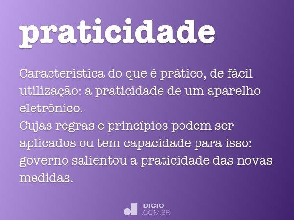 praticidade