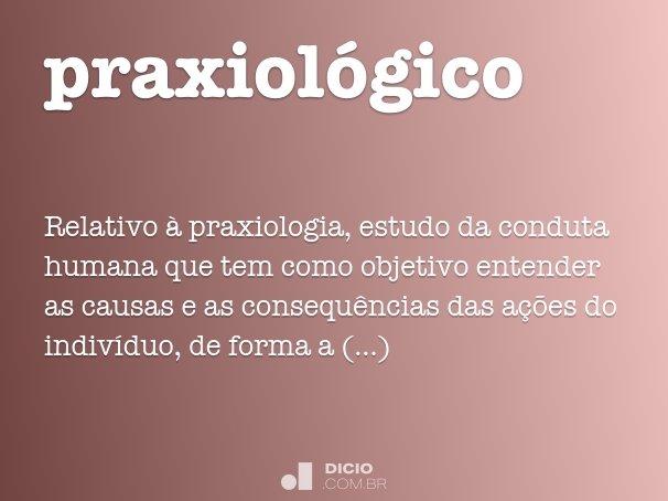 praxiol�gico