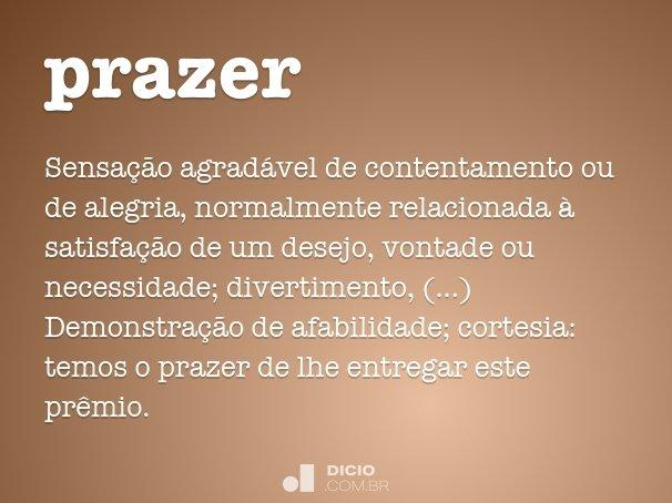 prazer