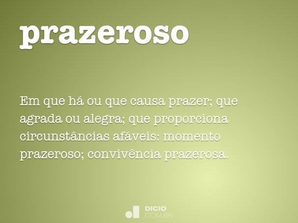 prazeroso