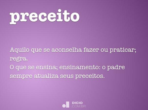 preceito