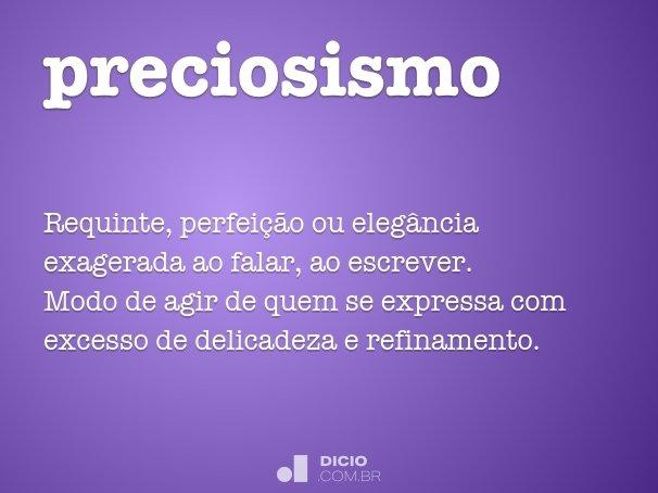 preciosismo