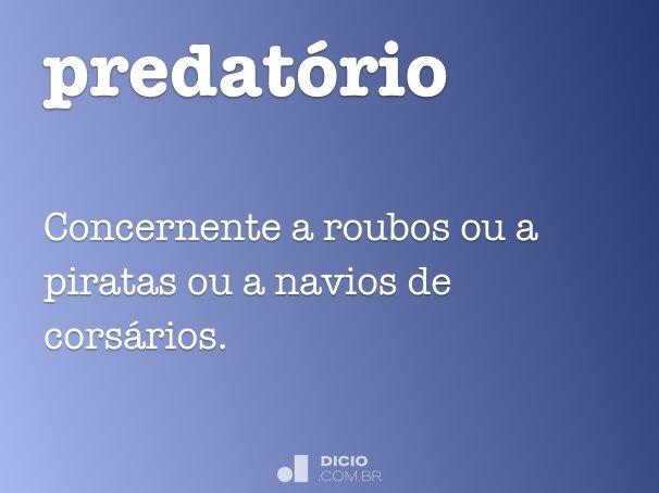 predat�rio