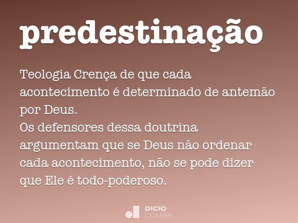 predestina��o
