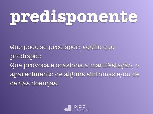 predisponente