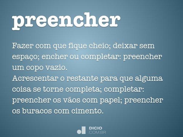 preencher