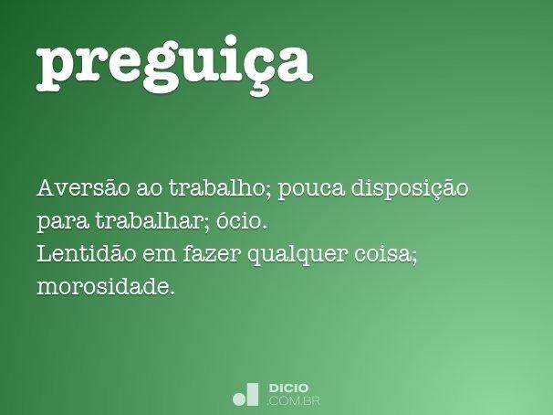 preguiça