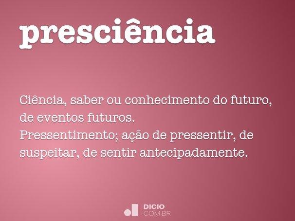 presci�ncia