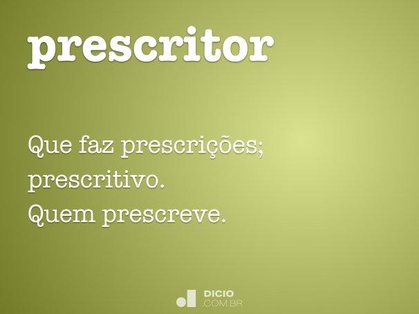 prescritor