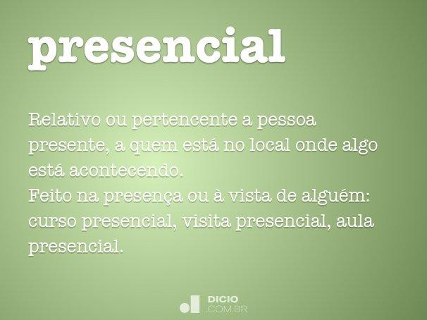 presencial